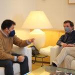 El alcalde de Rivas se reúne con el alcalde de Madrid para analizar el problema en Cañada Real