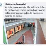 Inundación en el Centro Comercial H2O