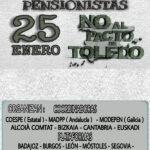 Manifiesto conjunto de los movimientos sociales de pensionistas