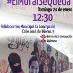 Concentración #ElMuralSeQueda. Manifiesto
