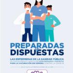 """Campaña de las enfermeras de la Comunidad de Madrid  """"Preparadas y dispuestas."""""""