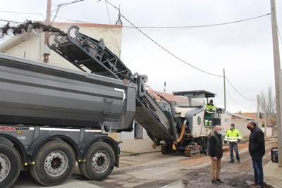 Arrancan las obras de mejora de 15 calles de Morata de Tajuña con cargo al PRISMA 2008-2011