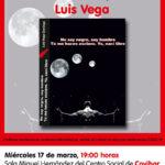 Luis Vega nos presenta su nuevo libro