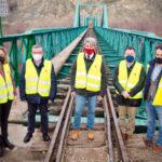 La Comunidad de Madrid rehabilita el puente ferroviario histórico de La Poveda