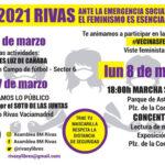 Sobre las suspensiones de las actividades 8M en Rivas