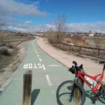 Por la mejora de los accesos en carril bici desde Rivas a las poblaciones colindantes.