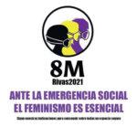 Actos previstos en Rivas para celebrar  el 8M