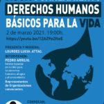 """Acto sobre """"Agua y saneamiento, derechos humanos básicos para la vida"""""""