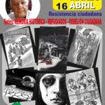 Luis Vega presenta su exposición de grabados 'Resistencia ciudadana'