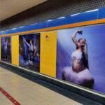 Las instalaciones de Metro acogen la exposición fotográfica #DanzaXAgua