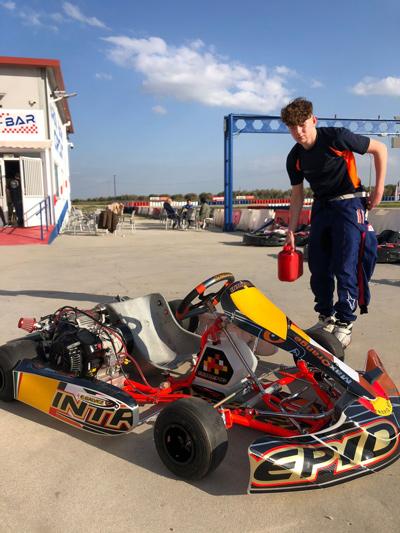 La empresa ripense Trend Cars patrocina a Kike Sánchez, campeón de España absoluto de karts 4 tiempos