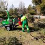 Biotrituradoras en Rivas: economía circular tras el temporal 'Filomena'