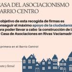 Recogida de firmas por una 3ª Casa de Asociaciones en el barrio centro