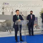 Colocada la primera piedra del nuevo Hospital HM Rivas