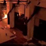 Podemos Rivas condena el atentado con material explosivo a la sede del partido en Cartagena