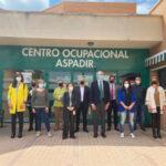 El Consejero de Sanidad de la Comunidad de Madrid, visita ASPADIR