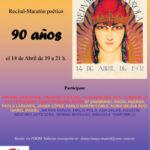 Invitación al recital-maratón poético republicano