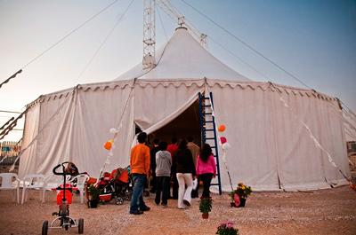 Una mañana de circo en familia