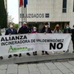 """La """"Alianza Incineradora de Valdemingómez No"""", denuncia a Urbaser ante la fiscalía de medioambiente."""