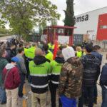 Unidas Podemos apoya a los trabajadores de PEMSA en Alcalá de Henares