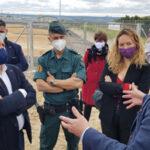 """""""Los animales no son cosas, son seres vivos que merecen respeto"""", ha dicho Ione Belarra en la visita al CIPAR  en Rivas"""