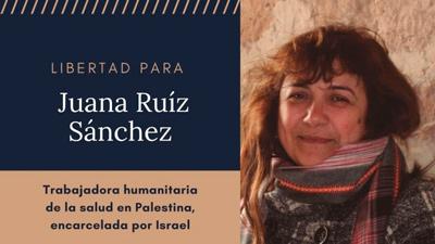 Comunicado por la liberación de Juana Ruiz Sánchez