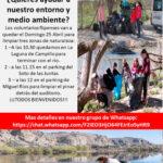 Campaña para limpiar zonas naturales de Rivas