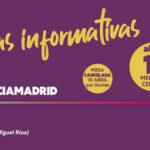 Mesa informativa de Unidas Podemos este domingo en Rivas