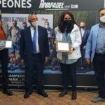 La consejera de Presidencia de la CM visita las instalaciones de Rivapadel en Rivas