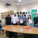 El Ayuntamiento y la Cooperativa Covibar firman un convenio para la promoción cultural del barrio