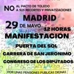 Movilización de pensionistas