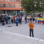 Apoyo desde Rivas a la lucha del pueblo colombiano