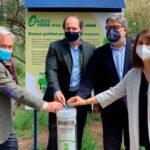 Recyclia reforesta una zona de alto valor biológico y homenajea a nuestros mayores