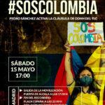 Solicitud de #SOS Colombia a Pedro Sánchez