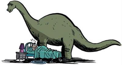 Y el dinosaurio todavía estará allí