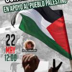 Concentración en apoyo del pueblo palestino