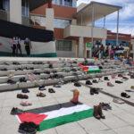 Acto de apoyo en Rivas al pueblo palestino