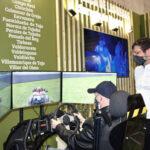 El futuro circuito de velocidad de Morata ya se rueda en Fitur