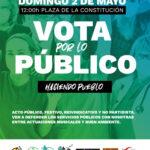 Las entidades sociales de Rivas votan por lo público