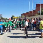 El PSOE de Rivas apoya las reivindicaciones de las familias del IES Julio Pérez