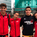 Participación de los Diablillos de Rivas en el Campeonato de España de triatlón