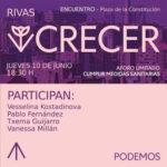 Acto de Podemos en Rivas