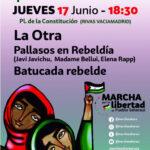 """La """"marcha por la libertad"""" pasará por Rivas"""