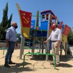 El Ayuntamiento de Morata remodela más de 40 juegos infantiles de nueve parques de la localidad