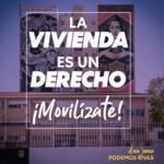 El Área Joven de Podemos Rivas propone movilizaciones por la regularización de los alquileres