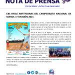 CBS Rivas anfitrionas del Campeonato Nacional de Sofbol 1ª División