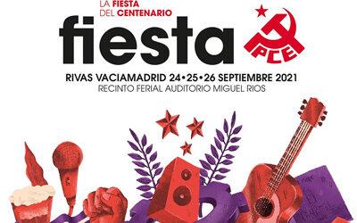 El  PCE  recupera  su  tradicional Fiesta y este año 2021 vuelve a celebrarse en Rivas