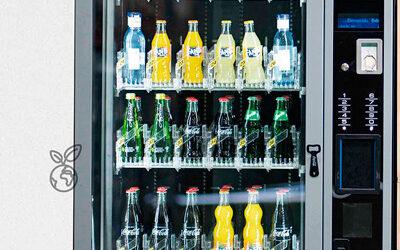 Máquinas que ya no expenden botellas de plástico