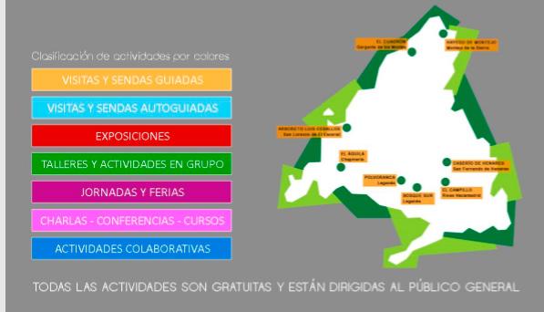 Más de 200 actividades gratuitas en los Centros de Educación Ambiental de la región