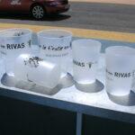 """Los """"Vasos Solidarios"""" estarán presentes en las fiestas de Rivas"""